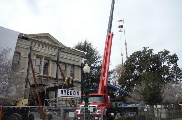 Napa Historic Courthouse Progress
