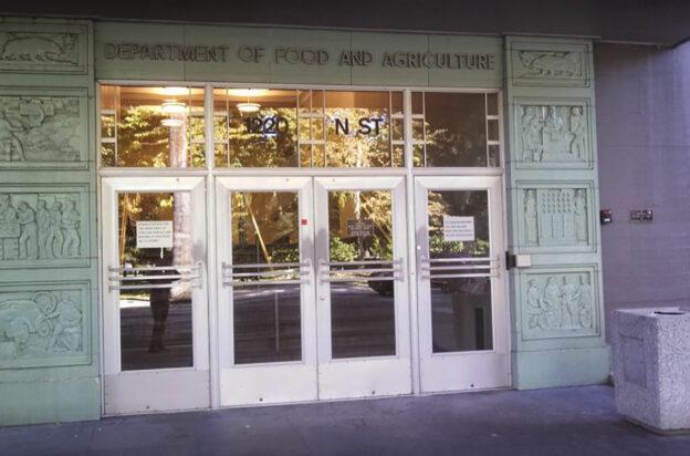 DGS Food & Agriculture downtown Sacramento
